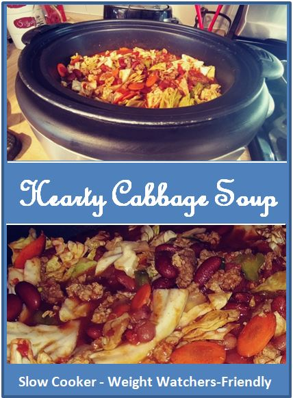 Hearty Cabbage Soup Banner